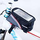 abordables Bolsas para Guardabarros-ROSWHEEL Bolso del teléfono celular / Bolsa para Cuadro de Bici 5.5 pulgada Pantalla táctil Ciclismo para iPhone 8 Plus / 7 Plus / 6S Plus / 6 Plus / iPhone X Rojo / Cremallera a prueba de agua