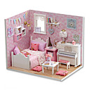 cheap Doll Houses-CUTE ROOM Model Building Kit DIY Boys' Girls' Toy Gift