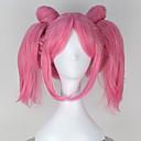 povoljno Anime perike-Cosplay Wigs Sailor Moon Sailor Moon Anime Cosplay Wigs 12 inch Otporna na toplinu vlakna Žene Halloween perika