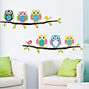 cheap Wall Stickers-Decorative Wall Stickers - Animal Wall Stickers Animals / Still Life / Fashion Living Room / Bedroom / Dining Room / Removable