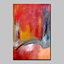 billige Dyremalerier-Håndmalte Abstrakt Vertikal,Moderne Et Panel Lerret Hang malte oljemaleri For Hjem Dekor