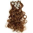cheap Tools & Accessories-Human Hair Extensions Wavy / Classic Human Hair Extensions Synthetic Hair Women's