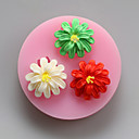 cheap Cake Molds-Bakeware tools Silicone Eco-friendly / Holiday / DIY For Cake / For Cookie / For Pie 3D Cartoon Mold 1pc
