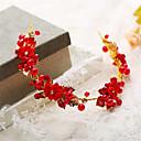 זול הד פיס למסיבות-פנינה / אבן נוצצת / סגסוגת Tiaras 1 חתונה / אירוע מיוחד כיסוי ראש