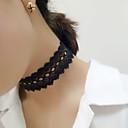 preiswerte Halsbänder-Damen Halsketten - Spitze Retro, Modisch Weiß, Schwarz Modische Halsketten Für Party, Alltag, Normal