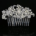 cheap Party Headpieces-Pearl / Crystal / Rhinestone Hair Combs 1 Wedding / Special Occasion / Casual Headpiece