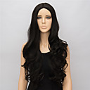 cheap LED Strip Lights-Synthetic Wig Wavy Synthetic Hair Middle Part Black Wig Women's Long
