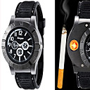 cheap Dress Watches-Men's Quartz Wrist Watch Alloy Band Casual / Fashion Black / Brown