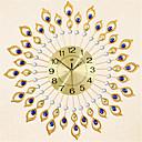 رخيصةأون ساعات جدران عصرية-الحديثة / المعاصرة معدن دائري AA ساعة الحائط