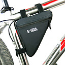 cheap Bike Frame Bags-B-SOUL Bike Frame Bag Top Tube Triangle Bag Moistureproof Wearable Shockproof Bike Bag Polyester PVC(PolyVinyl Chloride) Terylene Bicycle Bag Cycle Bag Cycling / Bike / Waterproof Zipper