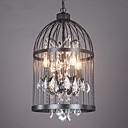 preiswerte LED Glühbirnen-Insel-Licht ,  Traditionell-Klassisch Korrektur Artikel Eigenschaft for Kristall Metall Wohnzimmer Spielraum