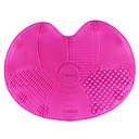 baratos Porta Cosméticos-superfície de multi textura de silicone compo a escova conjunto de ferramentas de limpeza