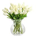 Недорогие Искусственные цвет-Искусственные Цветы 1 Филиал Современный Тюльпаны Букеты на стол