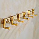 cheap Robe Hooks-Robe Hook Neoclassical Brass / Zinc Alloy 1 pc - Hotel bath