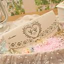 olcso Esküvői meghívók-Tri-Fold Esküvői Meghívók Meghívók Klasszikus stílus Szív stílus Tündérmese téma Gyöngy-papír
