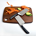 cheap Kitchen Utensils & Gadgets-1pc Kitchen Tools Stainless Steel Novelty Cutter & Slicer Vegetable