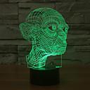 billige Heldekkende negleklistremerker-1 stk 3D nattlys Usb Dekorativ 5 V