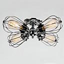abordables Accesorios de Iluminación-QINGMING® 4-luz Montage de Flujo Luz Downlight Cromo Metal Los diseñadores 110-120V / 220-240V Bombilla incluida / E26 / E27