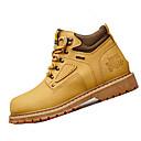 abordables Botas de Hombre-Hombre Zapatos Sintético Primavera Otoño Confort Botas Senderismo Con Cordón Para Casual Negro Amarillo Marrón Marrón Topo