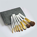 cheap Connectors & Terminals-8pcs Makeup Brushes Professional Makeup Brush Set Goat Hair Full Coverage Wood