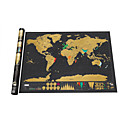 cheap Jigsaw Puzzles-the World for Travelers Scratch Map Map Fun Paper Family Classic Children's Gift