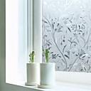 preiswerte Fensterfolie & Aufkleber-Art Deco Moderne Fensterfolie, PVC/Vinyl Stoff Fensterdekoration Esszimmer Schlafzimmer Büro Kinderzimmer Wohnzimmer Badezimmer Shop /