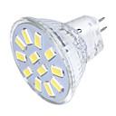 baratos Luzes LED de Dois Pinos-YouOKLight 3 W 250 lm GU4(MR11) Lâmpadas de Foco de LED MR11 12 Contas LED SMD 5733 Decorativa Branco Quente / Branco Frio 30/9 V / 1 pç / RoHs / FCC