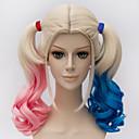 billige Kostumeparyk-Syntetiske parykker / Kostumeparykker Dame Nuance Syntetisk hår Nuance Paryk Lågløs Blond