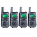 billige Other Housing Organisering-T899462C2P Håndholdt Programmeringskabel / VOX / Kryptering 3-5 km 3-5 km 22 AAA 0.5W Walkie Talkie Toveis radio