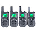 billige GoPro-tilbehør-T899462C2P Håndholdt Programmeringskabel / VOX / Kryptering 3-5 km 3-5 km 22 AAA 0.5W Walkie Talkie Toveis radio