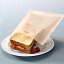 billige Frukt & Grønnsaks-verktøy-gjenbrukbare brødrister poser for grillet smørbrød kjøkken matlaging non stick matposer