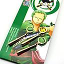 preiswerte Anime-Kostüme-Schmuck Inspiriert von One Piece Roronoa Zoro Anime Cosplay Accessoires Ohrringe ABS Aleación Herrn Damen heiß