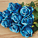 cheap Artificial Flower-Artificial Flowers 1 Branch Modern Style Roses Tabletop Flower