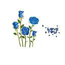 abordables Adhesivos de Pared-Florales Pegatinas de pared Calcomanías de Aviones para Pared Calcomanías de Fotos, CLORURO DE POLIVINILO Decoración hogareña Vinilos