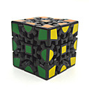cheap Rubik's Cubes-Rubik's Cube Gear 3*3*3 Smooth Speed Cube Magic Cube Puzzle Cube Professional Level Speed Gift Classic & Timeless Girls'