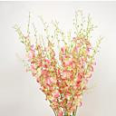 baratos Flor artificiali-Flores artificiais 1 Ramo Pastoril Estilo Ranúculos Flor de Mesa