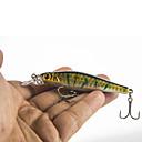 cheap Fishing Lures & Flies-5 pcs Fishing Lures Hard Bait / Minnow Hard Plastic Sea Fishing / Fly Fishing / Bait Casting / Spinning / Freshwater Fishing / Carp Fishing / Bass Fishing / Lure Fishing