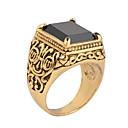 ieftine Inele Bărbați-Bărbați Cristal Band Ring / Inel - Personalizat, Vintage, Modă 7 / 8 / 9 Argintiu / Auriu Pentru Cadouri de Crăciun / Petrecere / Zilnic