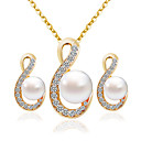 cheap Jewelry Sets-Women's Jewelry Set - Fashion Include Bridal Jewelry Sets Gold For Wedding / Party