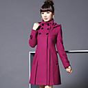 cheap Fidget Spinners-Women's Vintage Coat - Solid Colored