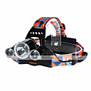 baratos Acessórios de Iluminação-4500 lm Lanternas de Cabeça / Farol para Bicicleta LED 4.0 Modo - U'King ZQ-X823 - Recarregável / Tamanho Compacto / Alta Intensidade