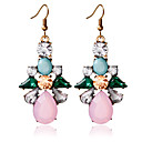 cheap Earrings-Women's Stud Earrings / Drop Earrings - Fashion Pink For Wedding