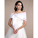 cheap Jewelry Sets-Sleeveless Organza Wedding / Party Evening Women's Wrap With Draping Shrugs