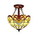 billige Hengelamper-2-Light Takplafond Omgivelseslys Andre Glass Glass LED, designere 110-120V / 220-240V Pære ikke Inkludert / E26 / E27