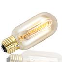 abordables Luces LED de Filamentos-gmy 1pc 38w 100lm t45 bulbo de la bombilla del edison bulbo 40w e27 ac220-240v adorna la bombilla