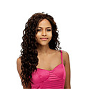 cheap Synthetic Capless Wigs-Synthetic Wig Curly Synthetic Hair Side Part Brown Wig Women's Long