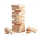 cheap Board Games-Board Game / Stacking Game / Wooden Blocks Mini Wooden Classic Girls' Gift