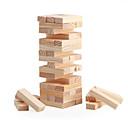 baratos Jogos de Tabuleiro-Jogos de Tabuleiro Blocos Lógicos Blocos de Montar de Madeira Mini De madeira Clássico Para Meninos Para Meninas Brinquedos Dom