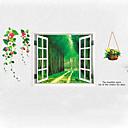 olcso Falfestmény-Dekoratív falmatricák - 3D-s falmatricák 3D Nappali szoba / Hálószoba / Fürdőszoba / Eltávolítható