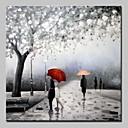 זול ציורי נוף-ציור שמן צבוע-Hang מצויר ביד - L ו-scape מודרני בַּד